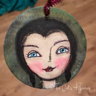 Vampira ornament
