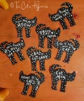 Black Cat Ornaments