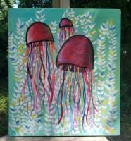 Custom order--jellyfish