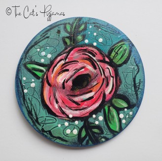 Rosebud Ornament