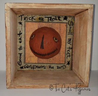 Trick or Treat Shadow Box
