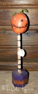 Pumpkin on a stand