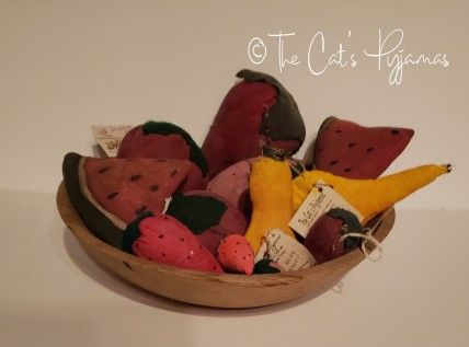 Folk art fruit