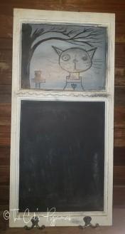 Scaredy-Cat Chalkboard