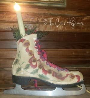 Ice Skate Lamp