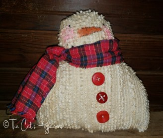 Snowman in Red
