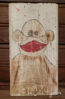 Sock Monkey art
