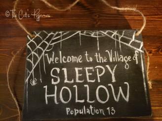 Custom Order (Sleepy Hollow Sign)