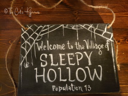 Custom Order (Sleepy Hollow Sign)