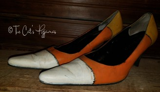 Candy Corn Shoes