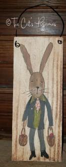Easter Rabbit sign