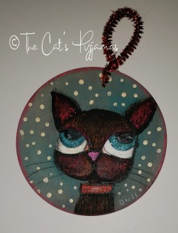 Dexter the Cat ornament