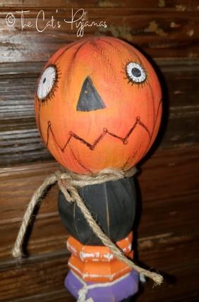 Tall Jack-o-Lantern Make-Do