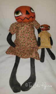 Mama Pumpkin & Baby