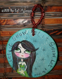 Let it Snow Ornament