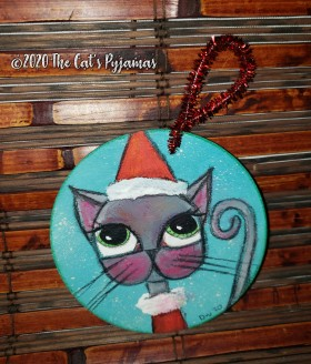 Santa Claws Ornament