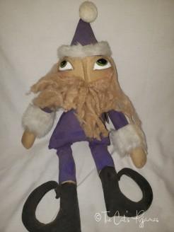Santa in Purple