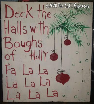 Deck the Halls Sign