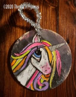 Lachlan the Unicorn ornament