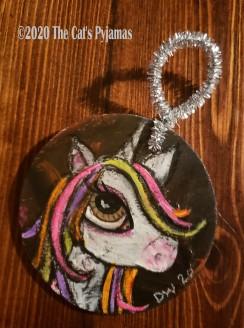Dorin the Unicorn ornament