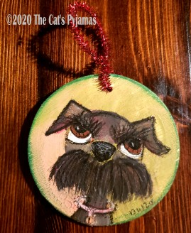 Charlie the Dog ornament