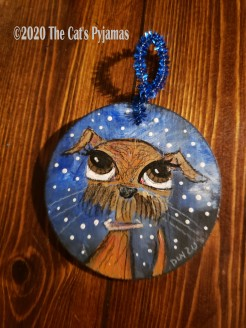 Lucy the Dog ornament
