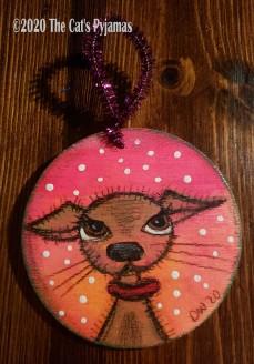 Maggie the Dog ornament