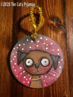 Sasha the Dog ornament