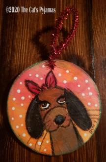 Bonnie the Dog ornament