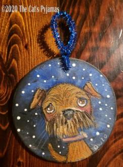Josie the Dog ornament