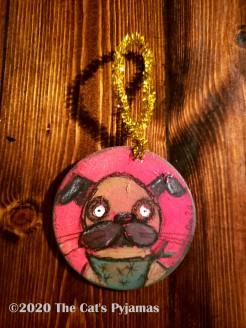 Roxy the Dog ornament