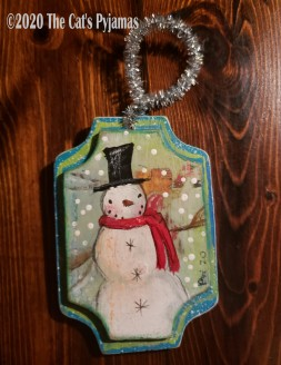 Sam the Snowman ornament