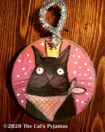 Hank the Cat ornament