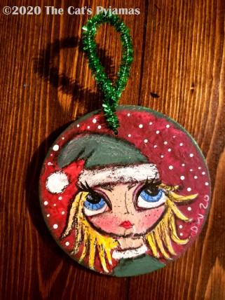 Mrs.Claus Ornament