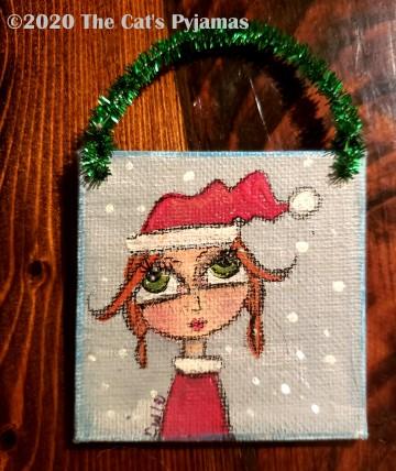 Santa's Helper ornament
