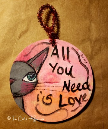 All You Need is Love ornament