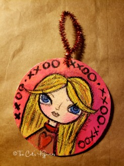 Blondie ornament