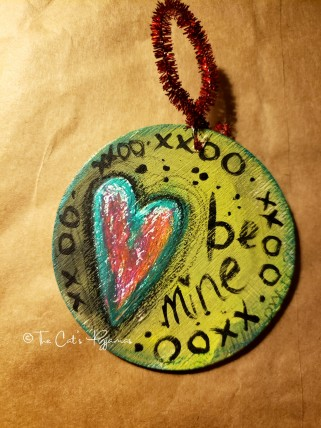 Be Mine xoxo ornament