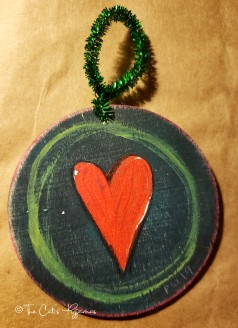 Simple Heart ornament