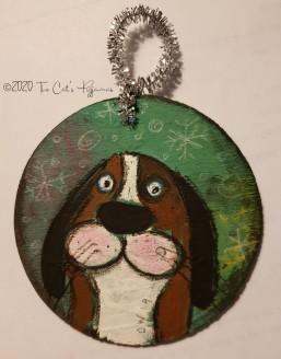 Hound Dog Ornament