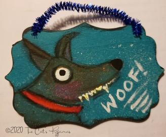 Woof! Ornament