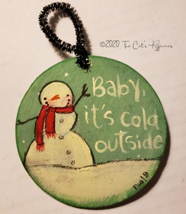 It's Cold Outside Snowman