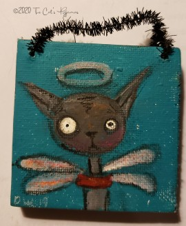 Salem ornament and magnet