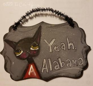 Yeah, Alabama ornament