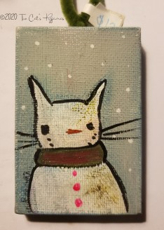 SnowCat ornament
