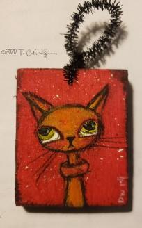 Olan the Cat ornament
