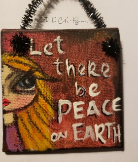 Let there be Peace on Earth ornament