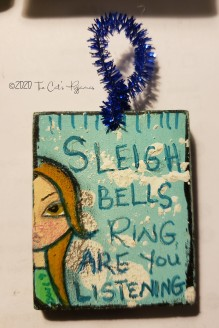 Sleigh Bells ornament