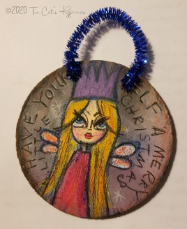 Merry Little Christmas Ornament