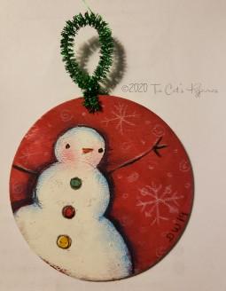 Stanley Snowman Ornament